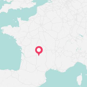 fiche village gabarit carte localisation le gibanel